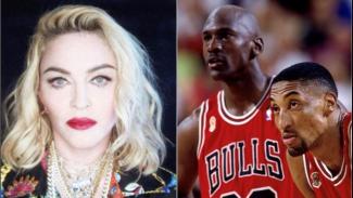 Madonna, Michael Joran dan Scottie Pippen