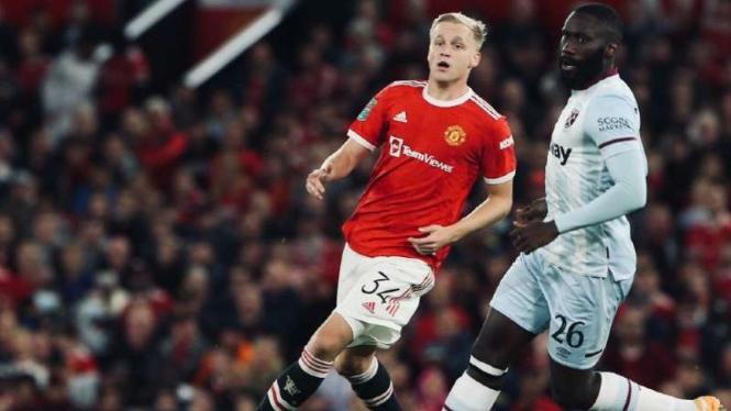 Duel Manchester United vs West Ham United
