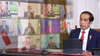 Presiden Jokowi di Global COVID-19 Summit Secara Virtual