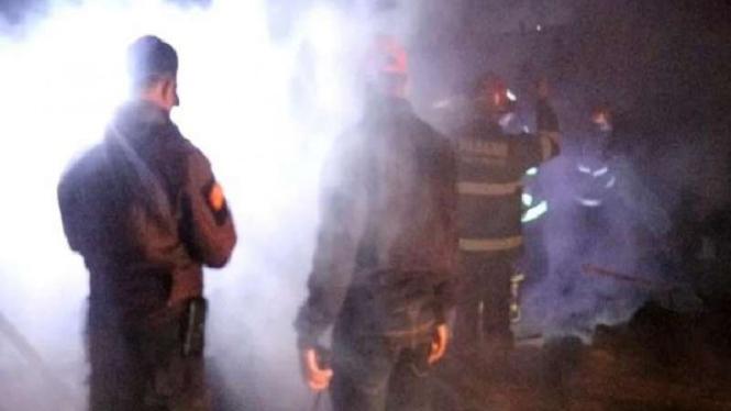 Kebakaran terjadi Kelurahan Tarantang, Kecamatan Lubuk Kilangan, Padang