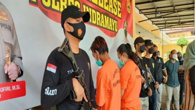 Polisi menangkap ibu yang bunuh anak tirinya di Indramayu