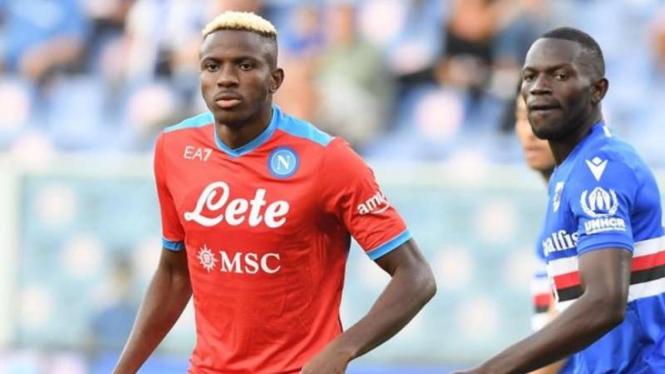 Striker Napoli, Victor Osimhen.
