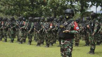 VIVA Militer: Pasukan Yonif Raider 514/Sabaddha Yudha Kostrad