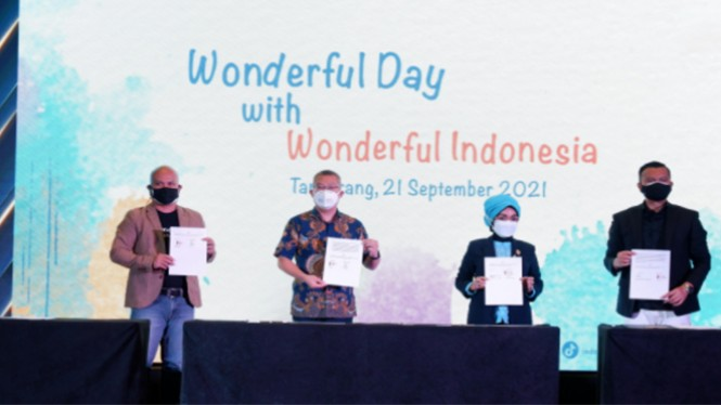 Es Krim AICE Terpilih Menjadi Mitra Co-Branding Wonderful Indonesia