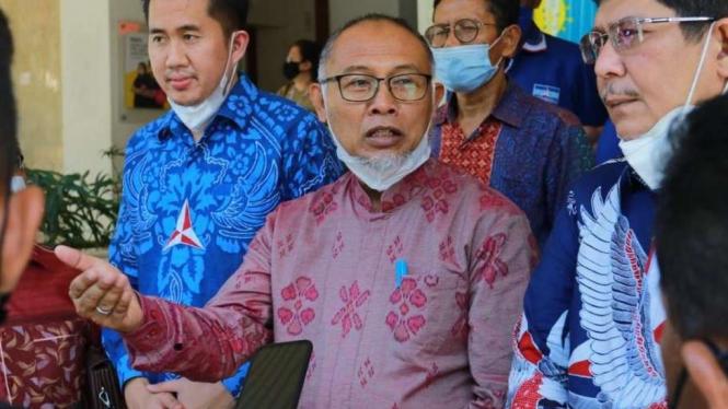 Kuasa hukum DPP Demokrat Bambang Widjojanto