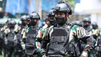 VIVA Militer: Anggota Yonif Mekanis Raider 413/Bremoro