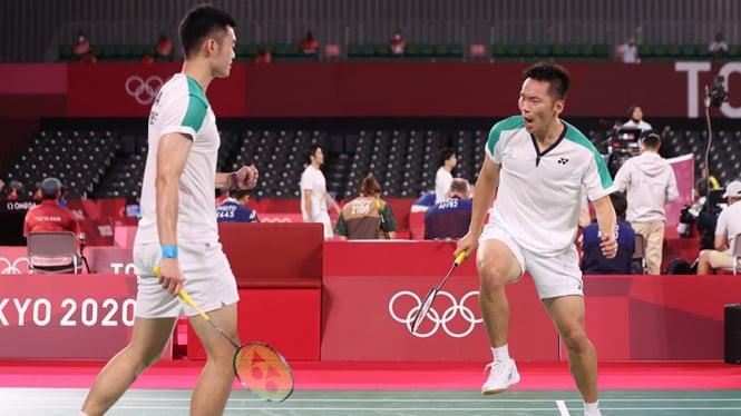 Ganda putra Taiwan, Lee Yang/Wang Chi Lin di Olimpiade Tokyo 2020