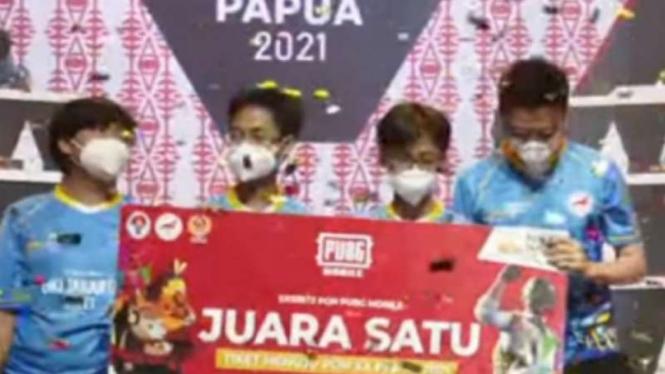 DKI Jakarta sabet emas PUBG Mobile PON XX Papua
