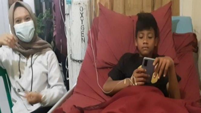 Seorang remaja selamat usai tersesat lima hari di Gunung Guntur