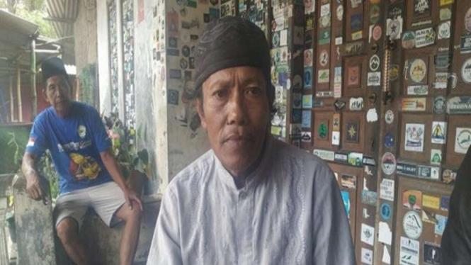 Mang Ade, orang yang menemukan remaja yang tersesat di Gunung Guntur