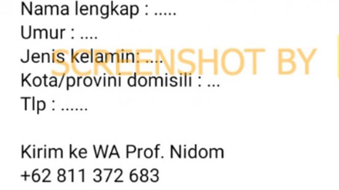 Beredar pendaftaran Vaksin Nusantara