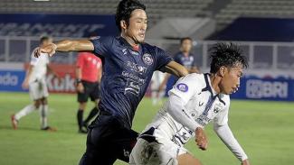 Pertandingan Arema FC vs PSIS Semarang