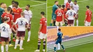 Emiliano Martinez menantang Ronaldo untuk mengambil penalti.