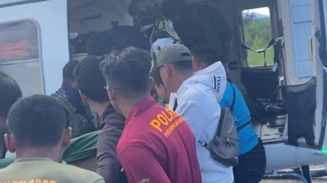 Brimob tewas di Papua.