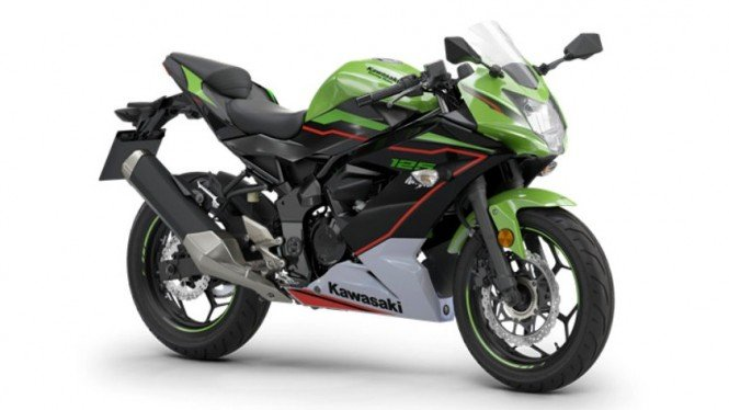 Kawasaki Ninja 125 terbaru. Foto: Greatbiker.