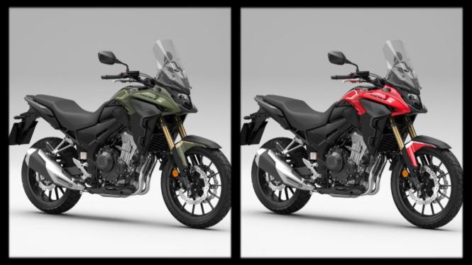 Honda CB500X edisi 2021
