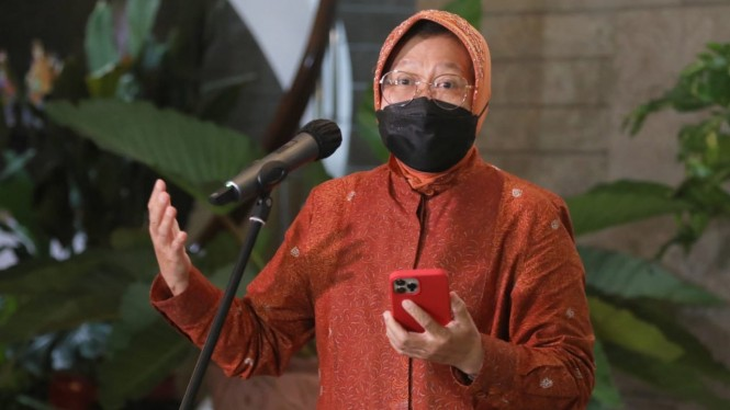 Menteri Sosial Tri Rismaharini.