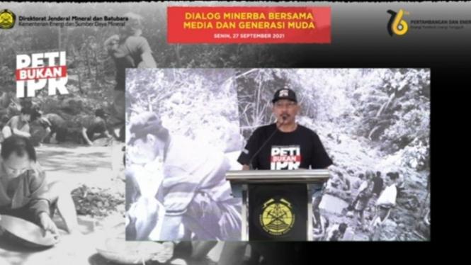 Dirjen Minerba Kementerian ESDM, Ridwan Djamaluddin.