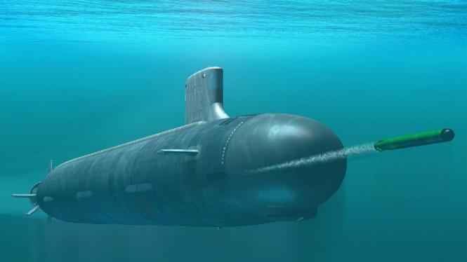 Kapal selam kelas Virginia.