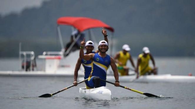 Tim dayung Jawa Barat sabet emas di PON XX Papua.
