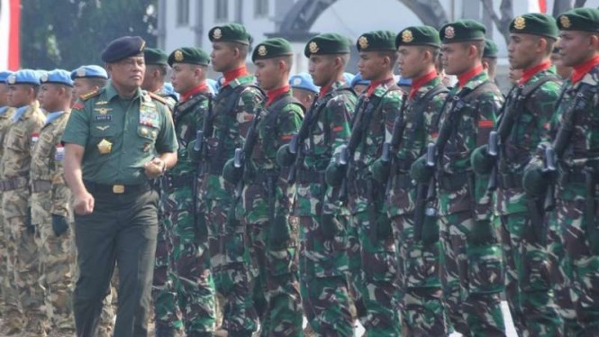 VIVA Militer: Jenderal TNI (Purn.) Gatot Nurmantyo saat menjabat Panglima TNI