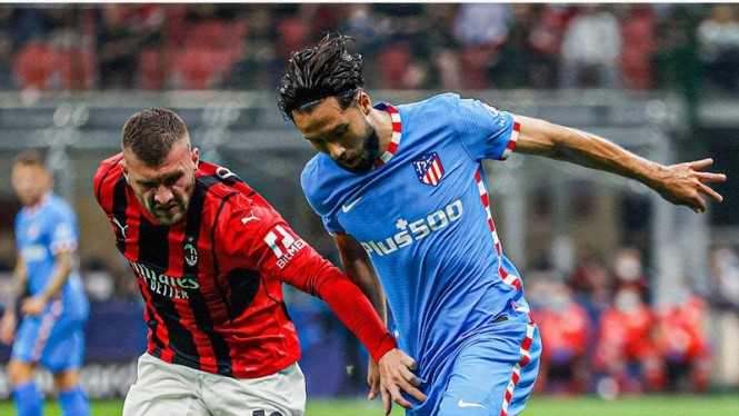 Pertandingan AC Milan vs Atletico Madrid