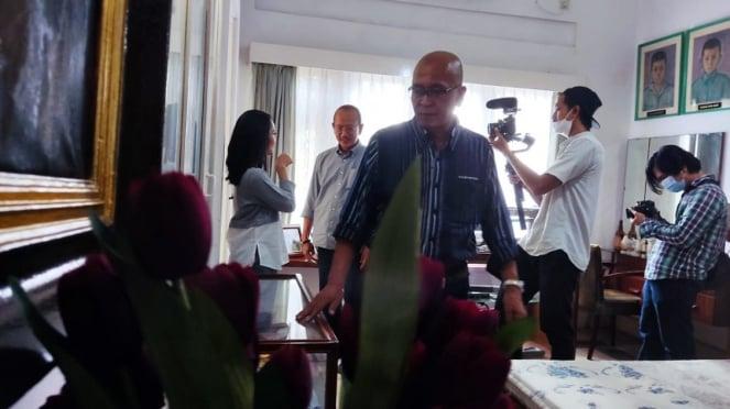 Putra Jenderal Ahmad Yani saat mengisahkan peristiwa penembakan saat G30S PKI.