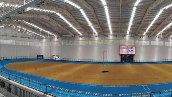 Arena Klemen Tinal, venue sepatu roda di PON XX Papua.