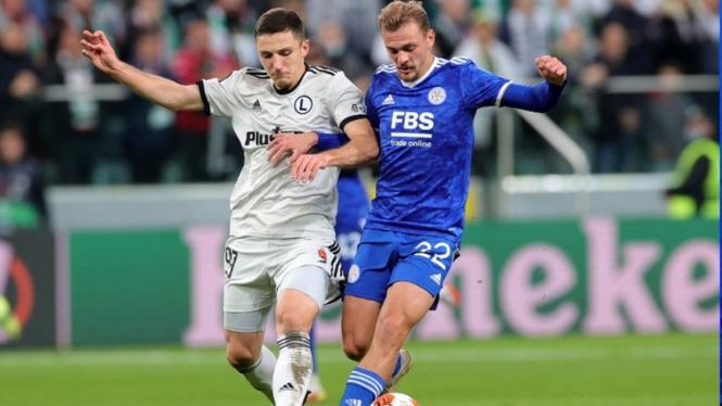 Pertandingan Legia Warsawa vs Leicester City