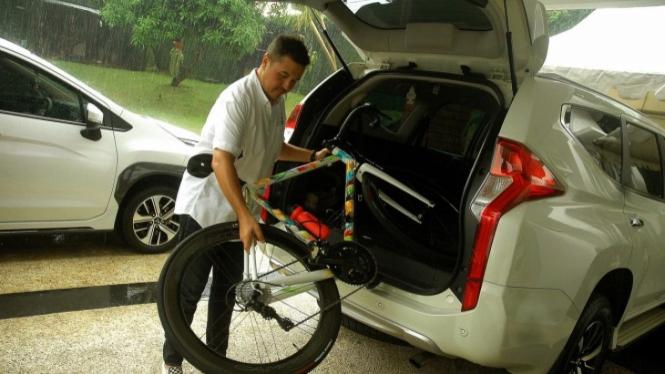 Tips angkut sepeda di mobil