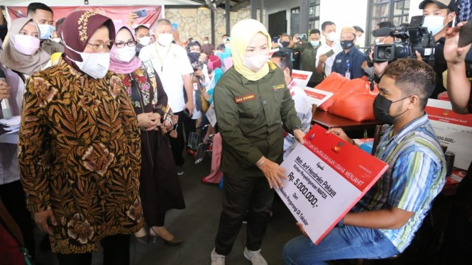 Kunjungan kerja Mensos di Provinsi Gorontalo, Rabu (29/09)