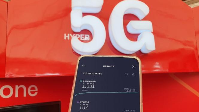 Telkomsel 5G.