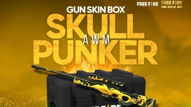 Free Fire - Gun Skin Box