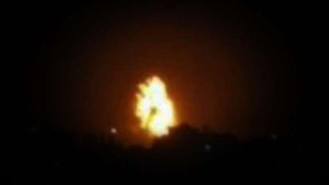 VIVA Militer: Ledakan di langit Arab.