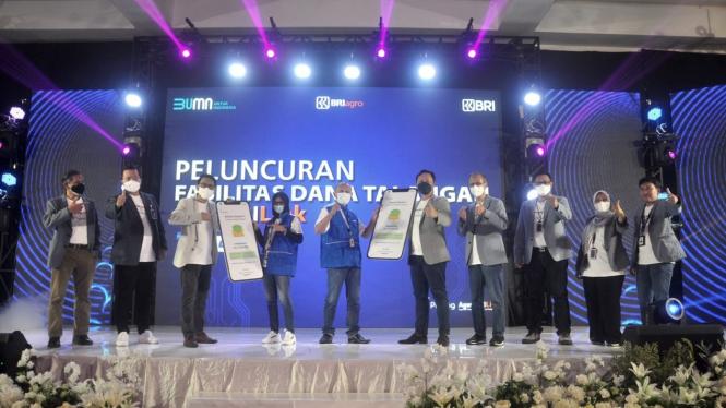 Peluncuran Fasilitas Dana Talangan AgenBRI Link