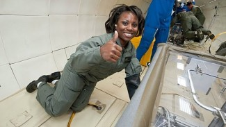 Ilmuwan NASA Camille Wardrop Alleyne.