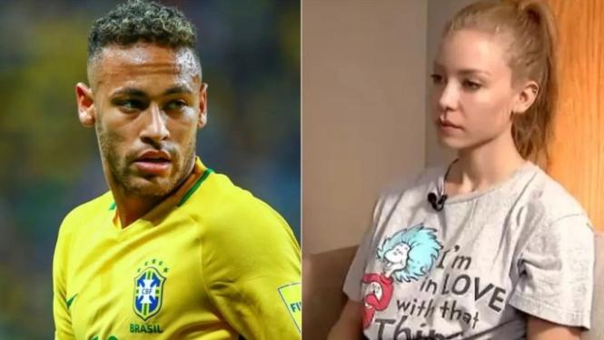Neymar dan Najila Trindade