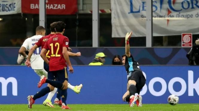 Final UEFA Nations League antara Spanyol vs Prancis.