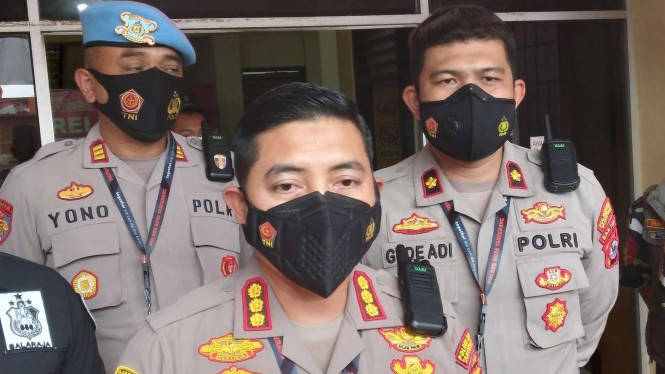 Kapolres Kota Tangerang Komisaris Besar Polisi Wahyu Sri Bintoro.