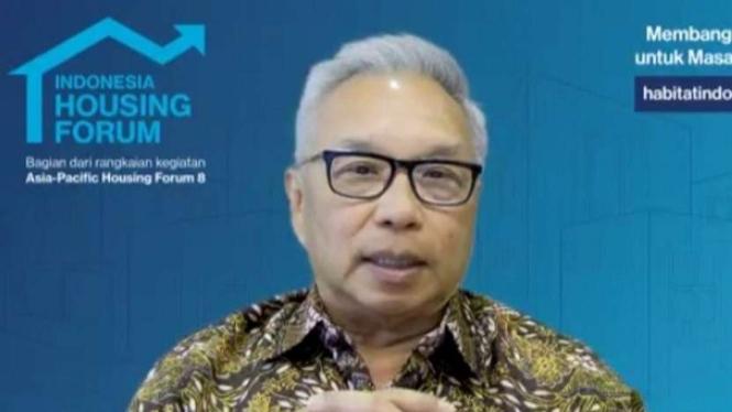 Kepala Badan Pengembangan Kawasan Properti Terpadu Kadin, Budiarsa Sastrawinata.