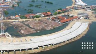 Proyek Tol Semarang-Demak.