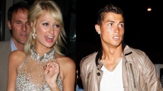 Ronaldo dan Paris Hilton