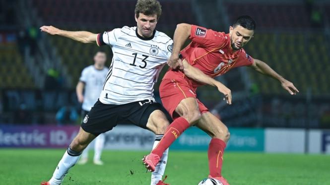 Pertandingan Makedonia Utara melawan Jerman