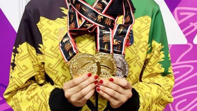 Medali PON XX Papua - Sutjiati K. Narendra