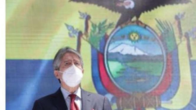 Presiden Ekuador Guillermo Lasso