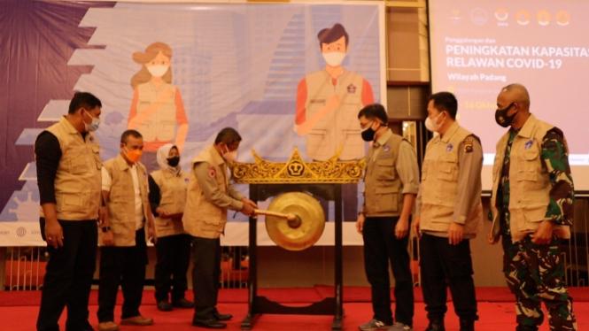 Kegiatan Penggalangan dan Peningkatan Kapasitas 1000 Relawan COVID-19 Wilayah Padang Raya.
