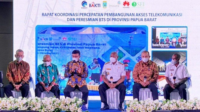 Forum koordinasi proyek BTS 4G Daerah 3T di Provinsi Papua & Papua Barat