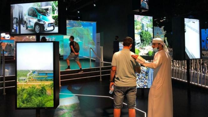 Paviliun Indonesia pada perhelatan Expo 2020 Dubai yang didukung Astra