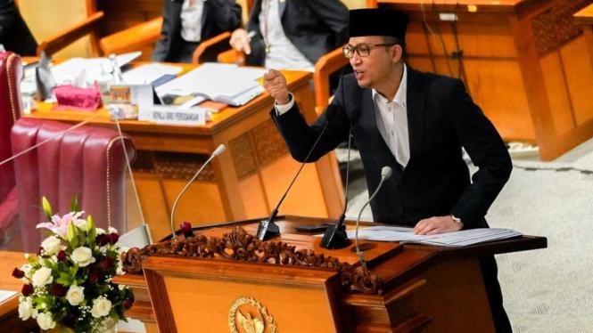 Anggota DPR Fraksi PKS, Ecky Awal Mucharam