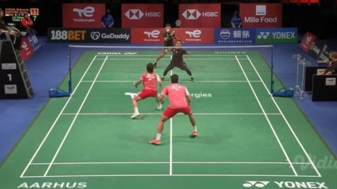Duel Mohammad Ahsan/Daniel Marthin vs Lu Ching Yao/Yang Po Han